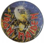 Iron Maiden - 'Live After Death' Vintage 32mm Badge